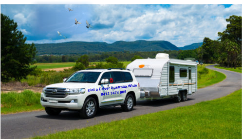 Caravan Towing Truck Bus Car Tiny House Relocations Dial A Driver Australia Wide